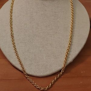 SALE- 14k Gold Rope Chain